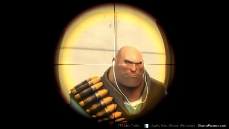 Apple iPod, Valve Team Fortress 2 Mac Trailer Easter Eggs