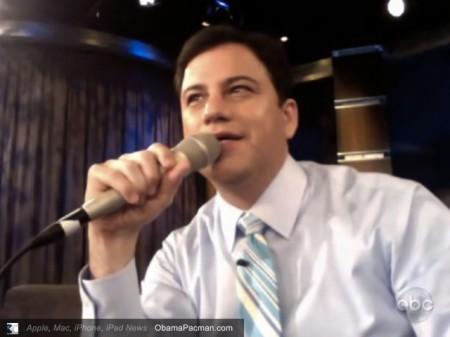 Jimmy Kimmel Records ABC Broadcast TV on His Apple MacBook Pro
