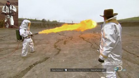 Mybusters Jamie Hyneman Team Fortress 2 TF2 Pyro