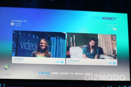 xbox 360 event,  VideoKinect, Microsoft Adopts Apple iPhone 4 FaceTime Video Chat Open-Standard