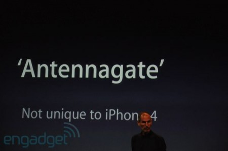 AntennaGate, Apple says not unique to iPhone 4