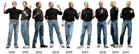 Apple CEO Steve Jobs Keynote Fashion Evolution