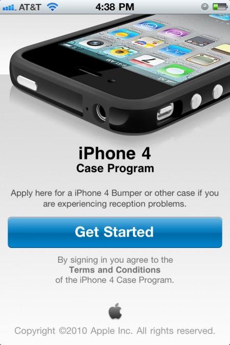 Apple iPhone 4 Free Bumper Case Program