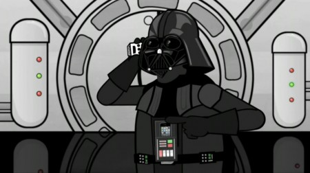 Darth Vader Calls Apple Care About iPhone 4 AntennaGate