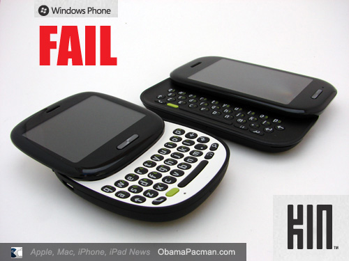 Epic Fail, Microsoft Cancels New Windows Mobile Kin Phone