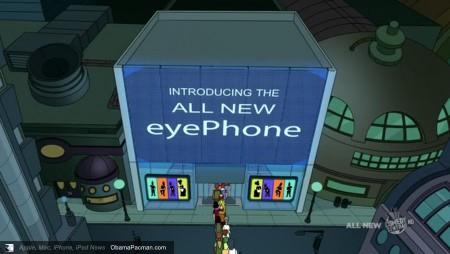EyePhone, Futurama Apple iPhone 4 Launch Parody