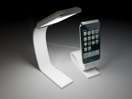 Most Impractical iPhone Lamp Concept Award Winner