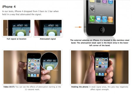 iPhone 4 vs. The World, Smartphone Antenna Performance, Apple vs. RIM, HTC, Windows Mobile