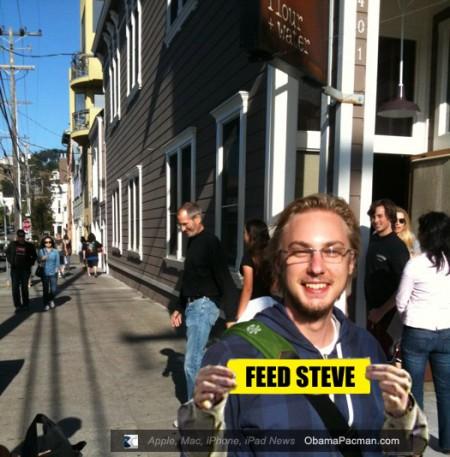 Alexa Andrzejewski, Kim Ahlstrom Flour Water photo looks photoshopped, Feed Steve Jobs Protest