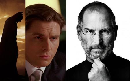 Apple CEO Steve Jobs vs. Batman Bruce Wayne