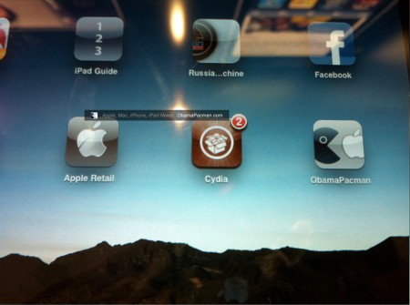 Apple Retail Store Pwned, iPad Jailbreak by ObamaPacman reader