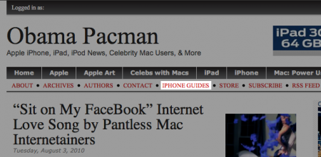 Apple iOS Guides, iPhone unlock, ObamaPacman.com