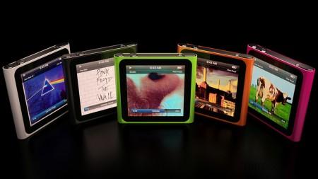 Apple iPod Nano 6G touch cgi mockup