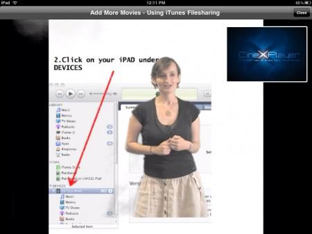 CineXPlayer iPad xvid divx avi video player, Lead Developer demo, Nxp Software B.V