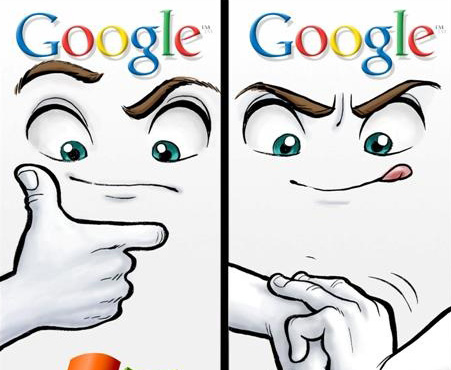 Google Microsoft Logo Google Microsoft Monopoly