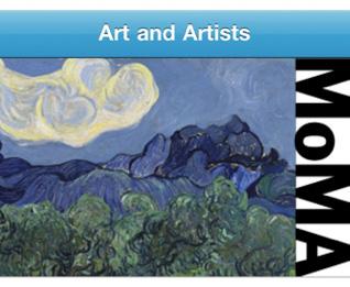 MoMA iPhone App, Van Gogh
