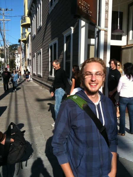 Steve Jobs Photobombs at San Francisco restaurant hotspot Flour Water