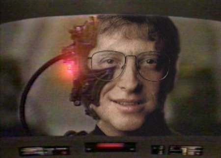 Windoze bill gates borg, Microsoft Windows