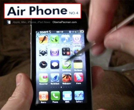 AirPhone 4, fake iPhone 4 Knockoff, Video Review