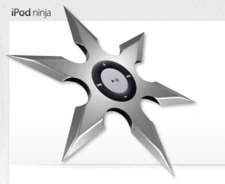 Apple iPod Ninja, Cutting-Edge Technology