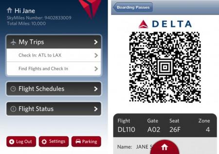 Delta Airlines iPhone App