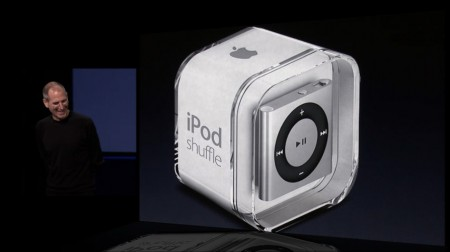 Steve Jobs Apple 2010 iPod shuffle
