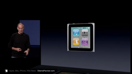 Steve Jobs releases iPod nano with multi-touch