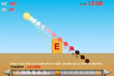 Sun Path, Helios iPhone App
