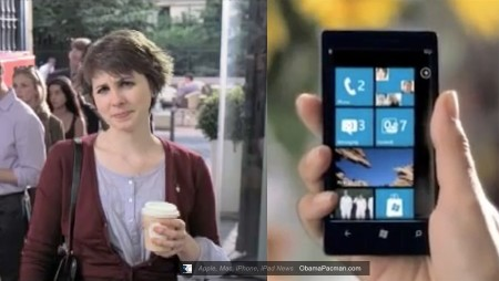 User face, Microsoft Windows Phone 7