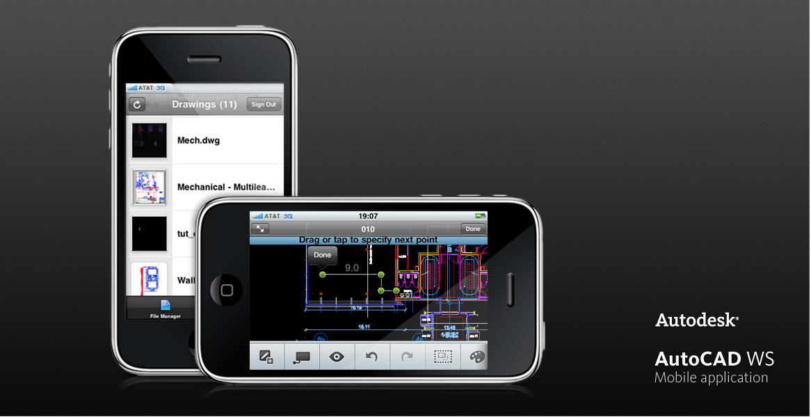Iphone cad autodesk autocad mobile software obama pacman for Mobel cad programm