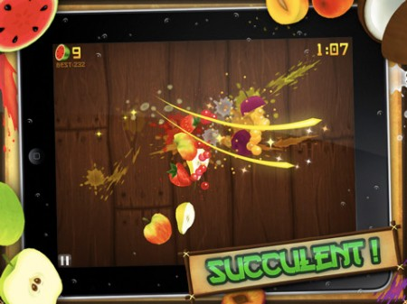 iPhone iPad App Fruit Ninja