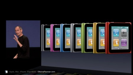 iPod nano 6g 2010 colors
