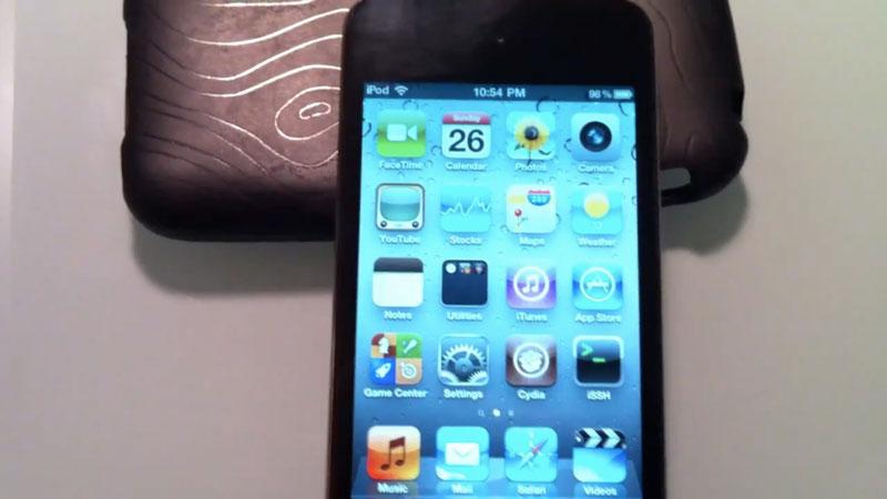 Как сделать джейлбрейк на ipod touch 4g