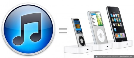 iTunes 10 as free iPhone, iPod, iPad dock