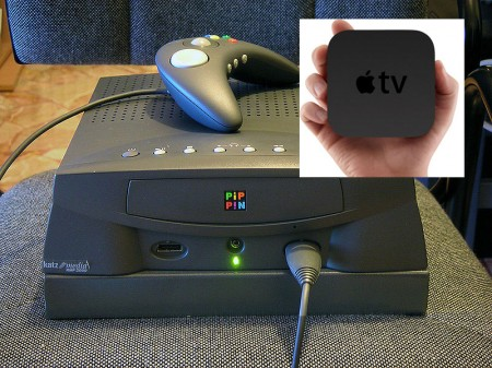 Apple TV vs. Pippin Game Console