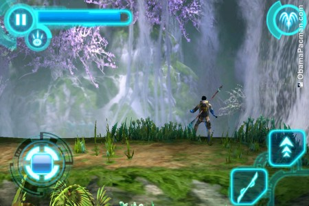 Avatar iPhone Game, Retina Display Screenshot