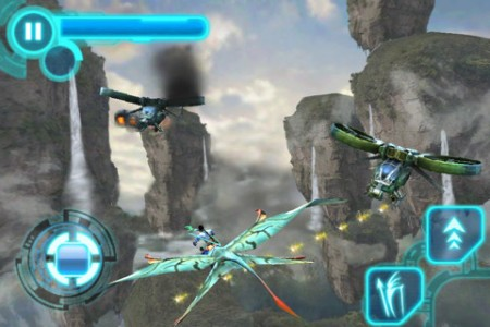 Banshee fight, Avatar iPhone iPod touch game
