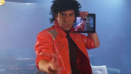 Michael Jackson iPad