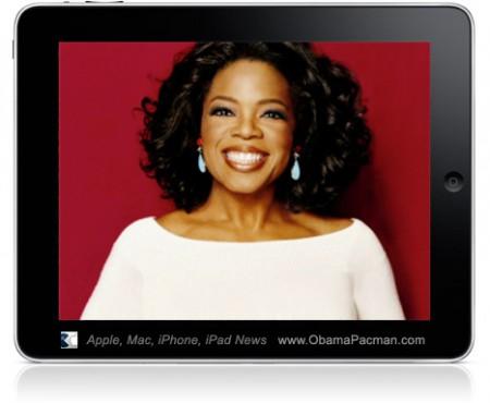 Oprah Winfrey iPad