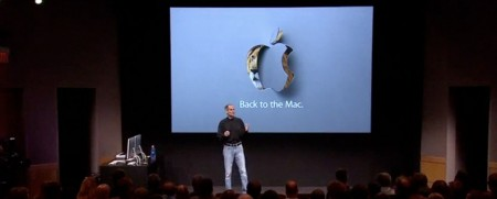 Steve Jobs Apple Back to the Mac 2010 October 20 Special Event