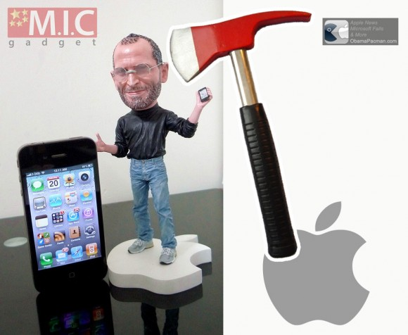 Apple Kills Steve Jobs Action Figure