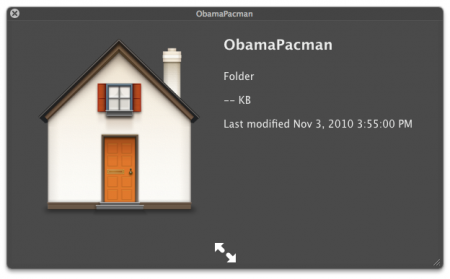 Apple Mac OS X Home Icon