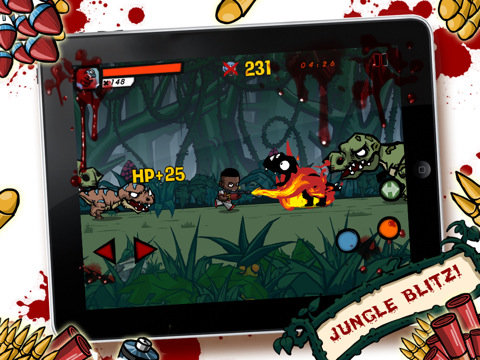 Dino Cap iPad iPhone dinosaur shooter