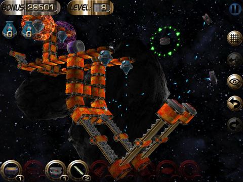 Enigmo 2 iPad puzzle game