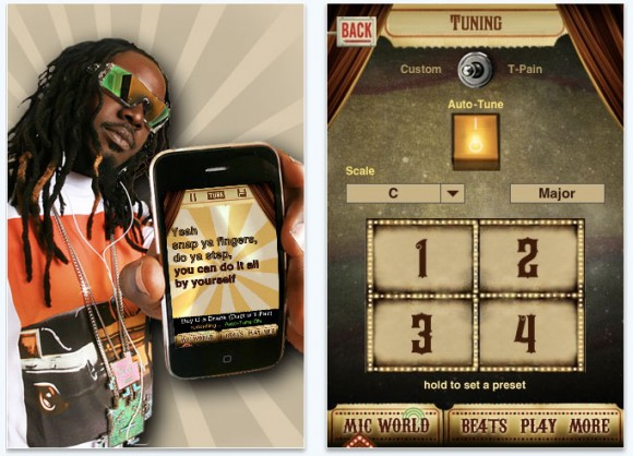 I Am T-Pain Autotune for iPhone, iPod touch