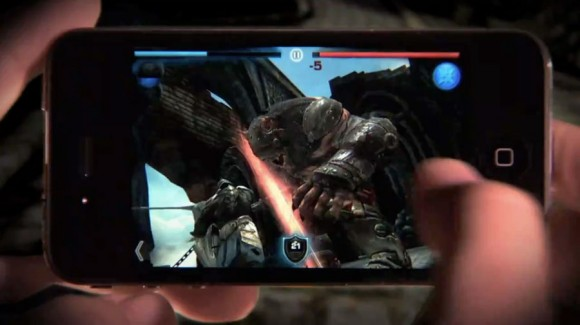Infinite Blade iPhone 4 Game Play
