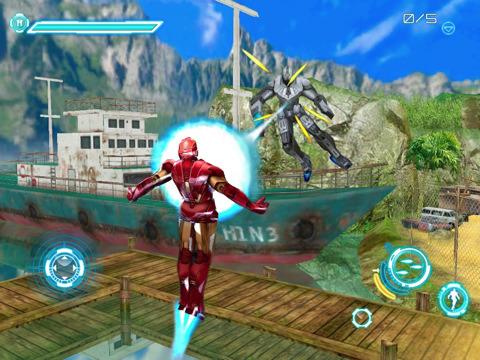 Iron Man 2 iPad console port