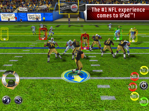 Madden NFL 11 EA Sports iPad game
