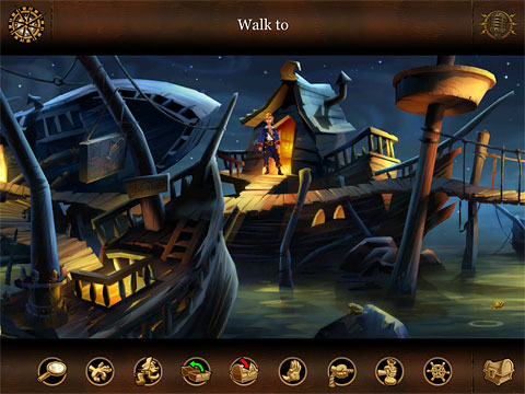 Monkey Island 2 iPad adventure game LeChuck Revenge