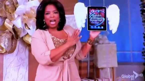 Oprah Winfrey Show, iPad Ultimate Favorite Thing 2010